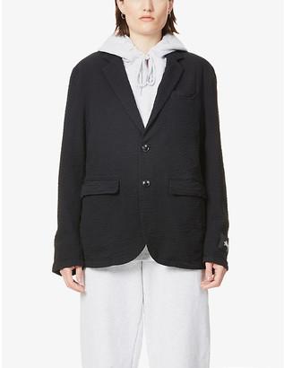Stussy Sport single-breasted cotton jacket