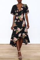 Gina Louise Floral Wrap Dress