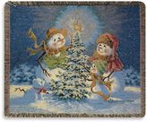 Bed Bath & Beyond Holiday Snow Family Throw Blanket