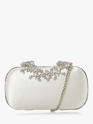 Dune Bridal Collection Beginning Embellished Clutch Bag, Ivory