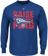 Majestic Men's Chicago Cubs MLB League Championship Long-Sleeve T-Shirt