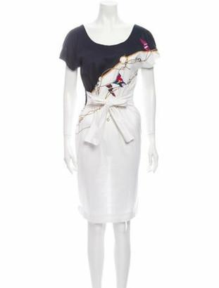 Gucci Vintage Knee-Length Dress White