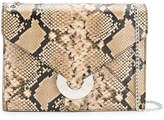 Just Cavalli snake effect shoulder bag