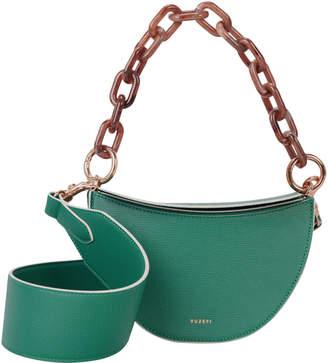 Yuzefi Doris Half Moon Leather Bag