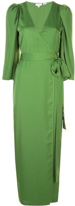 Rhode Resort Elliott wrap-style midi dress