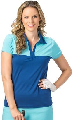 Women's Nancy Lopez Pursuit Colorblock Golf Polo