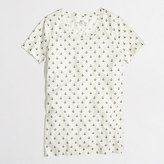 J.Crew Factory Factory ivory anchor collector tee
