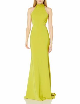 Mac Duggal Women's Hight Neck Gown