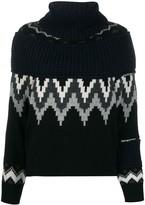 Sacai fairisle knit jumper
