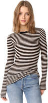 Vince Stripe Long Sleeve Tee