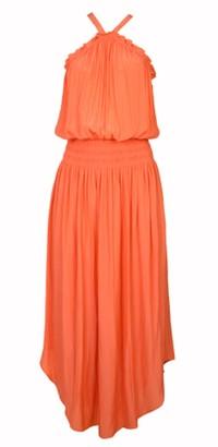 Ramy Brook Chloe Coral Dress - XS