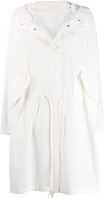Jil Sander hooded raincoat