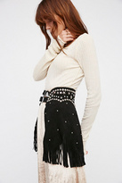 Understated Leather Womens PARIS TEXAS CHAPS BELT