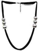 Gottex Plated Multichain Beaded 36in Statement Necklace.
