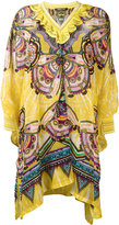 Roberto Cavalli ruffled neck tunic - women - Silk/Polyamide/Viscose - 38
