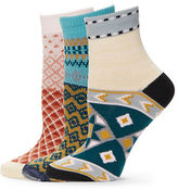 Free People 3-Pack Paradise Cove Socks