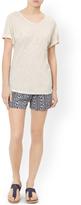 Monsoon Lettie Linen T-Shirt