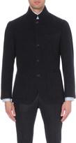 Brunello Cucinelli Brushed cashmere blazer jacket
