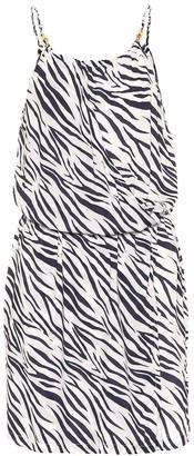Heidi Klein Exclusive to Mytheresa Kalahari printed minidress