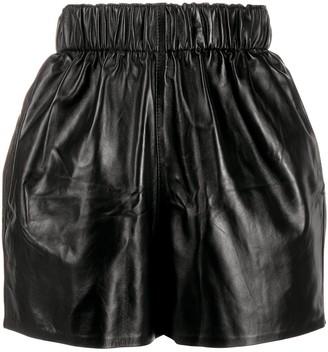 Manokhi Elasticated Ruched Shorts