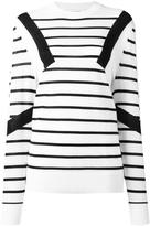 Neil Barrett striped jumper - men - Wool - S