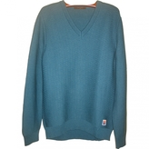 Louis Vuitton Blue Wool Knitwear Sweatshirt
