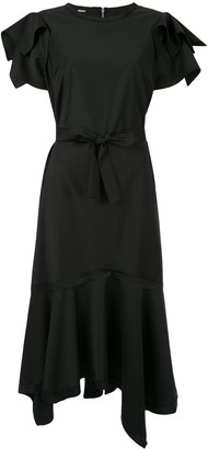 Taylor Adorn ruffled asymmetric dress