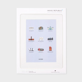 Paul Smith Iconic Museums Print By Le Duo For Image Republic