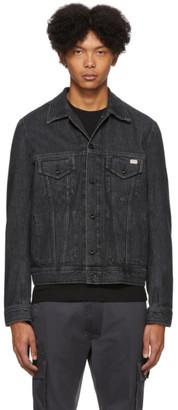 Diesel Black Denim D-Bray Jacket