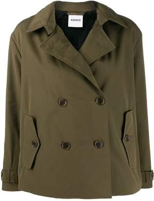 Aspesi Mousse double-breasted jacket