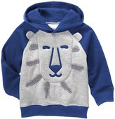 Gymboree Lion Hoodie (Toddler/Kid) - Dark Marine - 2T