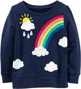 Carter's Long Sleeve Sweatshirt - Toddler Girls