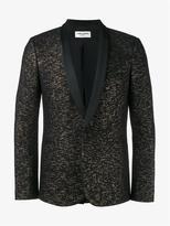 Saint Laurent Glitter Tuxedo Jacket