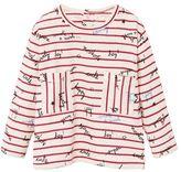 MANGO Baby Message Striped T-Shirt