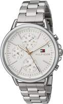 Tommy Hilfiger Women's 'Sport' Quartz Stainless Steel Casual Watch, Color:-Toned