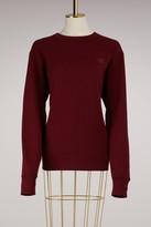 Acne Studios Cotton Fairview face Sweater