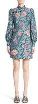 Marc Jacobs Women's Embellished Rose Jacquard Dress