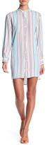 Line & Dot Annabelle Striped Shirt Dress