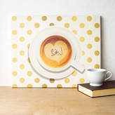 Cathy's Concepts CATHYS CONCEPTS Personalized Espresso Coffee Canvas