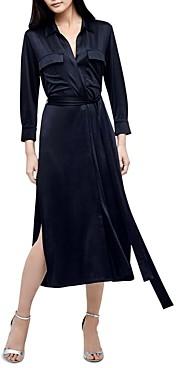 L'Agence Rivi Midi Shirt Dress