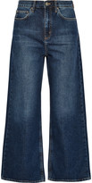 MiH Jeans Caron cropped mid-rise wide-leg jeans
