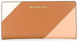 MICHAEL Michael Kors colour block continental wallet