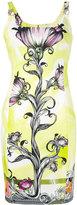 Versace floral print dress - women - Cotton/Polyester/Spandex/Elastane/Viscose - 42