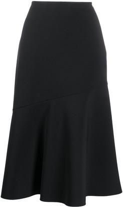 Jil Sander Pre-Owned 2017 Godet Hem Skirt