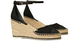 Tory Burch Color-Block Espadrille Wedge