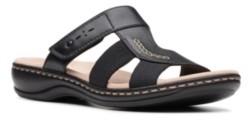 Clarks Collection Women's Leisa Emily Slide Sandals Women's Shoes
