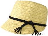 San Diego Hat Company San Diego Hat Women's Row Weave Fedora Hat