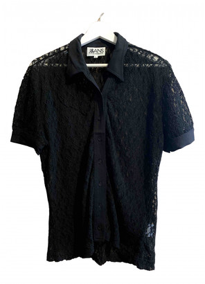 Dolce & Gabbana Black Lace Tops