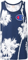 Champion palm tree print tank