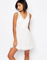 Vero Moda Lace Skater Dress
